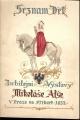Seznam děl Jubilejní výstavy Mikoláše Alše v Praze, na Příkopě  1932