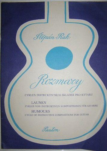 Rozmary (skladby pro kytaru) - Š. Rak