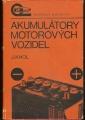 Akumulátory motorových vozidel - J. Khol