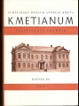 Kmetianum  III. - vlastivedný zborník (Martin)
