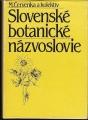 Slovenské botanické názvoslovie - M. Červenka a kol.