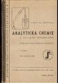 Analytická chemie II. (příručka pro chemická praktika) - prof. V. Smeykal