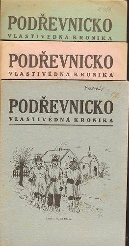 Podřevnicko 1, 3 a 4/1940 - vlastivědný kronika Zlín a okolí