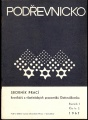 Podřevnicko 2/1967 - vlastivědný sborník (Gottwaldov) Zlín a okolí