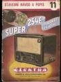 SUPER 254E - radio stavební návod a popis