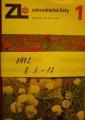 Zahradnické listy 1 - 12 1972