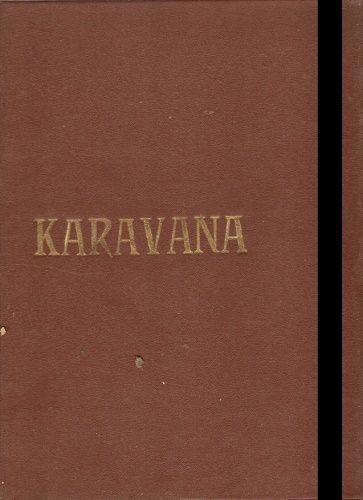 10 x Karavana - Zajatec pustin - J. Verne, Střela z Elamu, Poslední náčelník atd. - svázáno