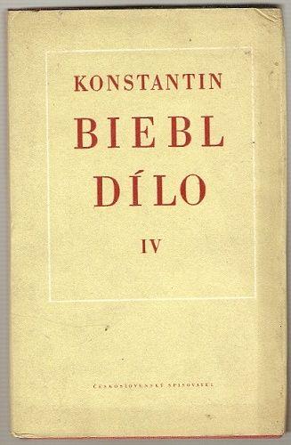 Dílo IV. - 1940 až 1950 - Konstantin Biebl