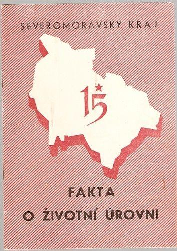 Severomoravský kraj - Fakta o životní úrovni (r. 1959)