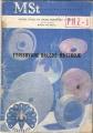 Typisované brusné nástroje - katalog 1956