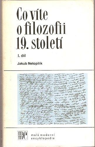 Co víte o filozofii 19. století I.
