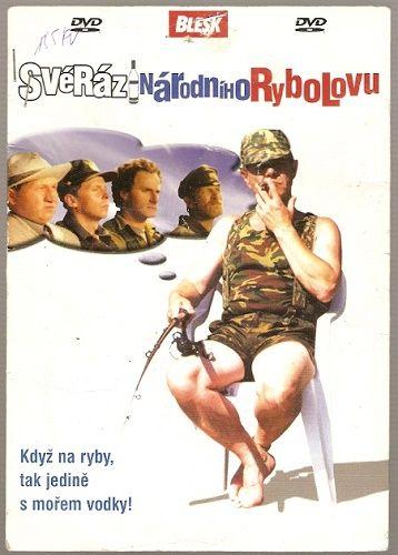 DVD Svéráz národního rybolovu - komedie