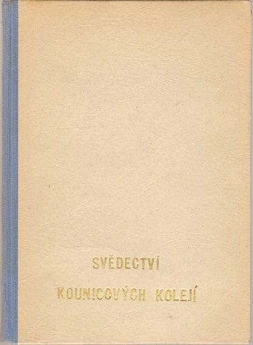 Svědectví Kounicových kolejí (Brno) - dr. J. Zatloukal