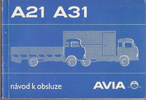 Avia A 21 a A 31 - návod k obsluze