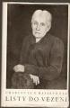 Listy do vězení - Ch. G. Masaryková