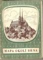 Silniční mapa okolí - Brno 1946