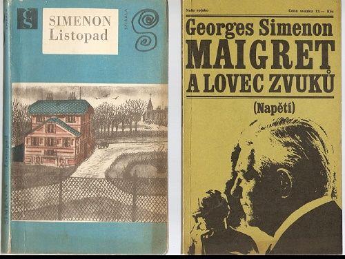 Maigret a lovec zvuků a Listopad