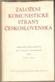 Založení Komunistické strany Československa
