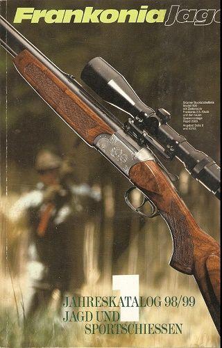 Frankonia Jagd und Sportschiessen katalog 1998 - 1999
