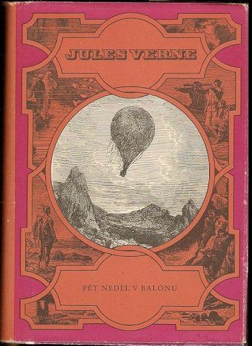 Pět neděl v balónu - J. Verne