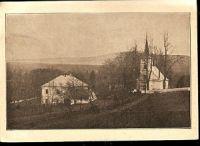 Sázava - kostel a fara