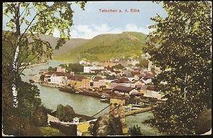 Tetschen a. d. Elbe - Děčín