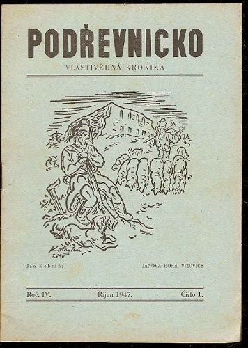 Podřevnicko 1, 2, 3 a 4/1947 - vlastivědná kronika KMS Vizovice