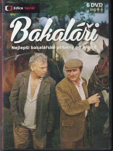 12 x DVD Bakaláři od A do Ž