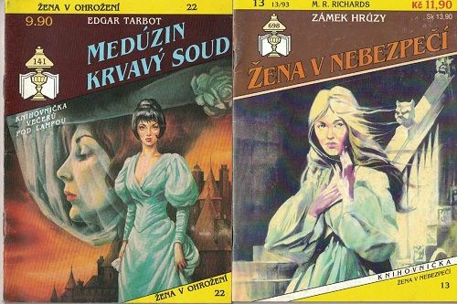 2 x Žena v nebezpečí - Zámek hrůzy a Medúzin krvavý soud