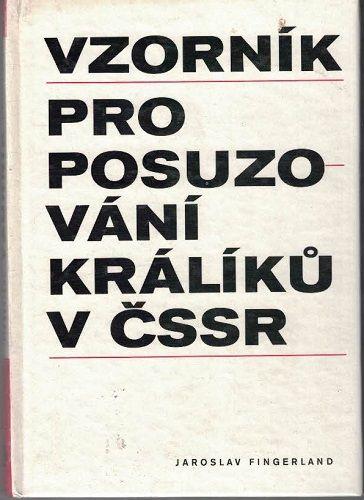 Vzorník pro posuzování králíků v ČSSR - J. Fingerland