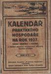 Kalendář Praktického hospodáře na rok 1927