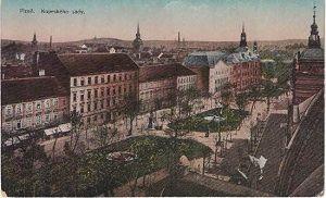 Kopeckého sady - Plzeň