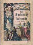 Mariánský kalendář na přestupný rok 1928