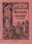 Mariánský kalendář na rok 1937