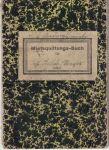 Mietsquittungs-Buch - Nájemní knížka
