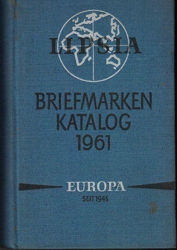 Lipsia Briefmarken katalog 1961 - Europa od 1945