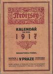 Třebízský - kalendář na rok 1917