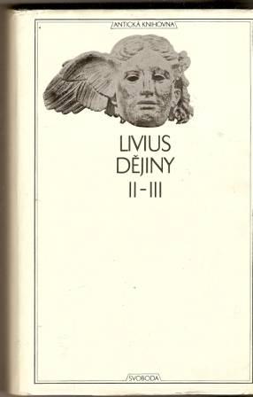 Dějiny II. - III. - Livius