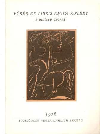 Výběr ex-libris E. Kotrba - motivy zvířat