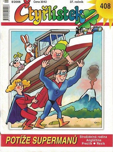 Čtyřlístek 408 - Potíže supermanů