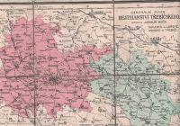 Generální mapa Hejtmanství Třebíčského