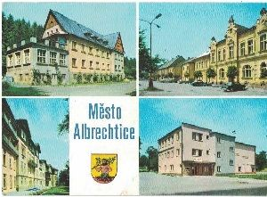 Město Albrechtice 1985