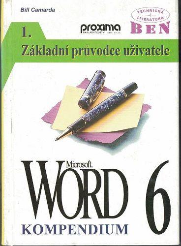 Word 6 kompendium - základní průvodce uživatele