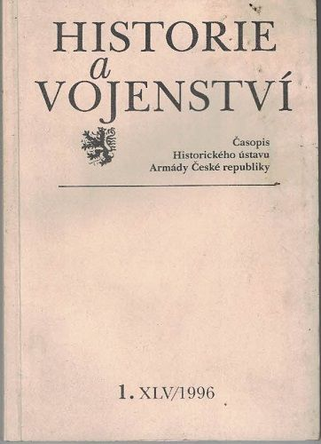 Historie a vojenství 1/1996