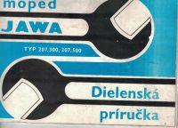 Moped Jawa 50 (typ 207 a 500) - dielenská príručka