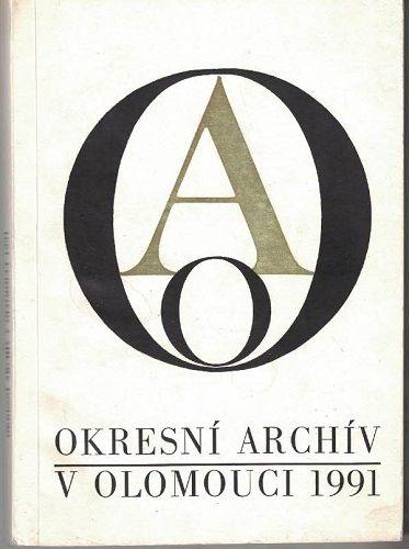 Okresní archiv Olomouc 1991