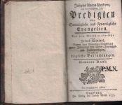 Predigten über sonntägliche und feyertägliche Evangelien 9 a 10 - J. A. Bordoni