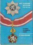 Vyznamenání ze sbírek Vojenského muzea