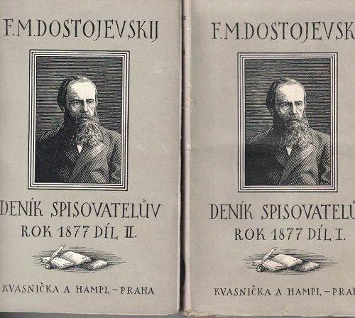 Deník spisovatelův I. a II. - rok 1877