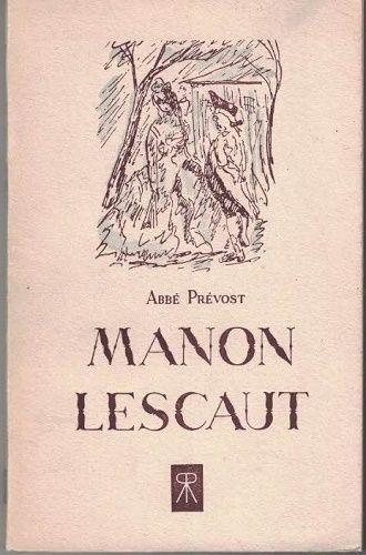 Manon Lescaut - Abbé Prévost (francouzsky)